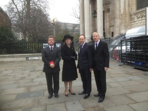 NI MPs Jeffrey Donaldson, Lady Hermon, Nigel Dodds and Gregory Campbell