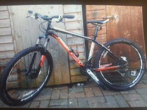 Police appeal over stolen bike in west Belfast burglary