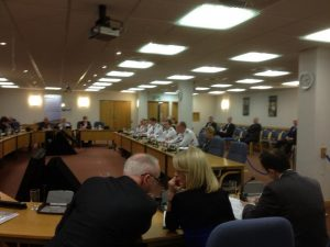 Matt Baggot tells Polilcing Board PSNI need clarification on flags issue