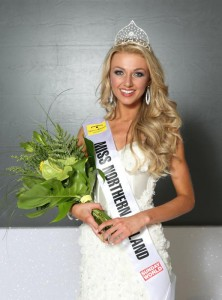 Miss Northern Ireland Winner 2013 is Meagan Green, 23, from Lisburn