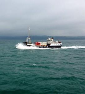 Fire tenders taken to Rathlin island on ferry