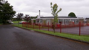 Carniny primary school where a young boy was bitten in the face by husky-style dog
