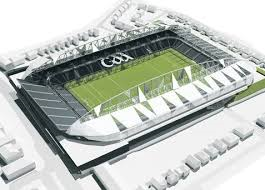 How the £70 million redeveloped Casement Park could have looked