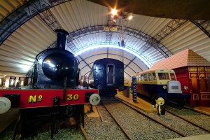 The Ulster Folk and Transport Museum, displays Ireland's largest and most comprehensive transport collection, from horse-drawn carts to Irish built motor cars, and from the mighty steam locomotives that graced our railways to the history of ship and aircraft building.