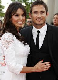 Lovebirds Frank Lampard and Christine Bleakley having a low key wedding