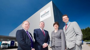 Enterprise Minister Arlene Foster announces £2.2 investment in Greiner Packaging