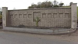 The memorial to ten Protestant workmen shot dead in Kingsmills in 1976