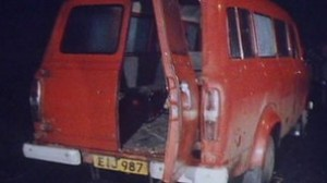 The van carrying the Protestant workmen was ambushed by a 12-strong IRA gang