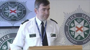 ACC Drew Harris says PSNI arrest suspects over