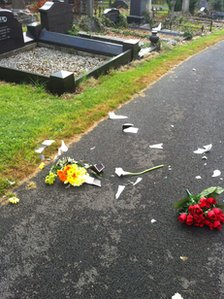 Ghouls desecrate 20 graves at Belfast City Cemetery