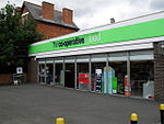 The Co-op at Knockbreda which was shopped at knife point on Wednesday evening