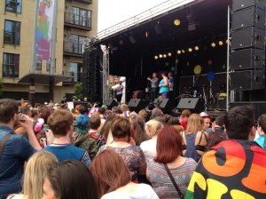 Thousands gather at Custom House Square for Pride Festival 2013