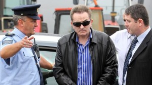 Irish tycoon Kevin McKeever arrives in court accused of wasting police time