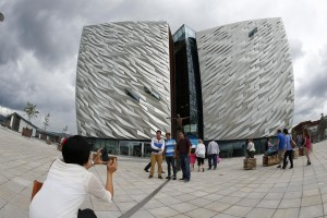 Titanic Belfast welcomes its one millionth visitor Co Kildare woman Ciara celebrates milestone ticket.