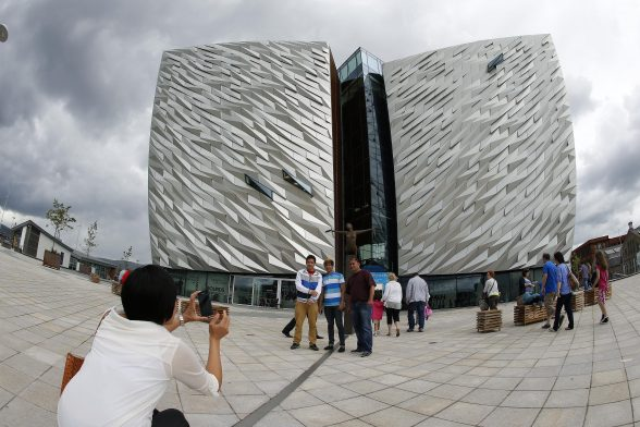 The Titanic museum and conference centre in Belfast name in top five best museums in GB