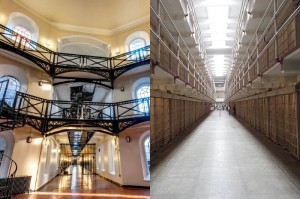Crumlin Road Gaol is on a par with the famous Alcatraz prison in San Francisco