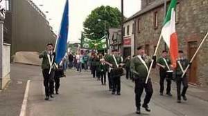 IRA Castlederg parade