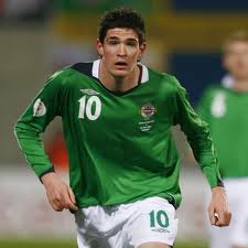 Palmero striker Kyle Lafferty to miss NI game against Russia over Achilles injury