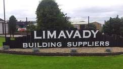 Writing on the all for Limavady Building Supplies which has gone into administration