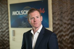 Robert Blythe has been appointed head of marking for Molson Coors