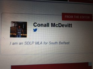 Is Conall McDevitt still hanging on to the last shreads of office?