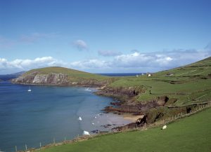 The gorgeous coastlie of the Kerry-Slea Head-Dingle Peninsula