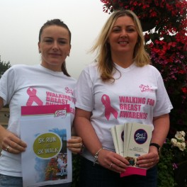 Pink ladies run for cancer