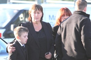Barry McCCrory funeral