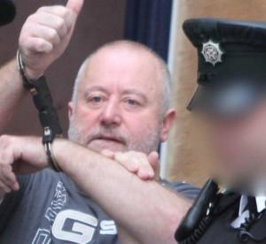 Murder accused Kieran MLaughlin leaves Derry Magistrates