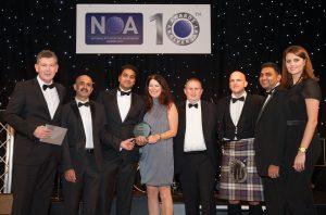 NOA Awards best BPO contract