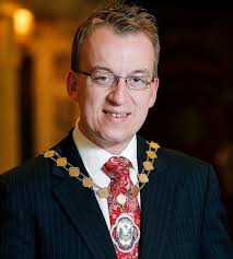 UNDER THREAT: DUP Deputy Lord Mayor Christopher Stalford