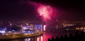 Banks of the Foyle Halloween in Derry-Londonderry