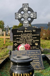Patrick Sullivan named on IPLO memorial at Milltown Cemetery