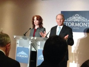 Meghan O'Sullivan and Richard Haass could not get the parties to agree on flags, the past and parades
