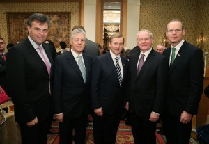 First Minister Peter Robinson and deputy First Minister Martin McGuinness business mission to Japan.