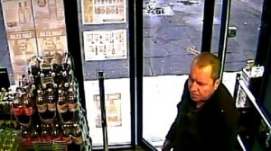 Last picture of Basil McAfee buying alcohol in an off licence on December 20
