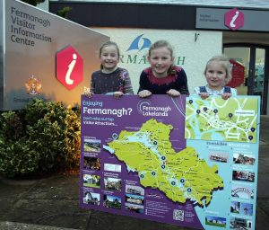 """"""" Fermanagh families getting ready for a fantastic weekend at the Discover Fermanagh Open Weekend"""""""