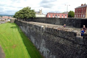 Man to face court over criminal damage to historic Derry's walls