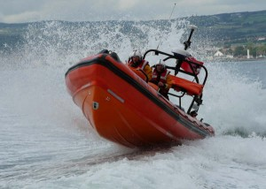 Bangor's fast inshore lifeboat. PIc: Courtesy of RNLI