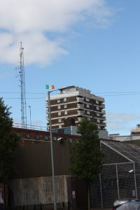 The former North Queen Street PSNI station