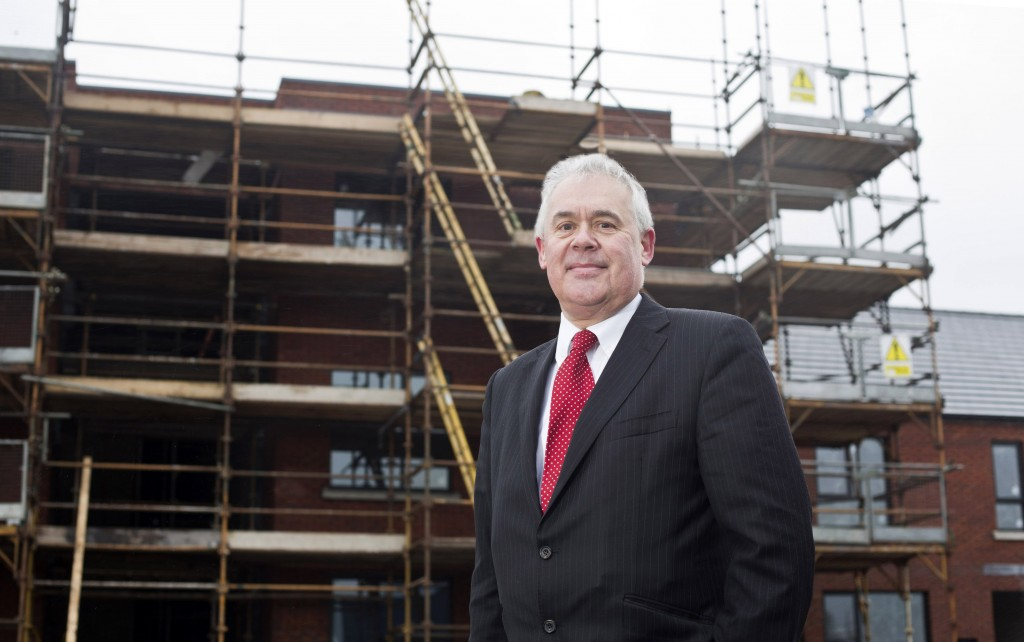 Steve Amos welcomes bank support for £180 investment in social housing