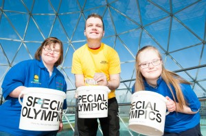 Special Olympics Collection Day 2014 launch at Victoria Square