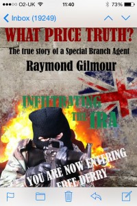 Possible legal threat to Raymond Gilmour's blockbuster book 'What Price Truth?'