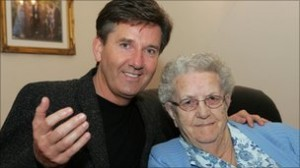 Daniel O'Donnell and his mum Julia who passed away this morning