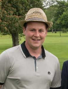 Northern Ireland golfer Chris Ross
