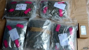 Class A and Class B drugs seized by police