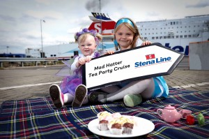 Tilly and Lucy Hunniford from Killinchy get ready to take part in one of the Stena Line Kids Cruises which have re-launched for 2014.