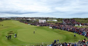The Open set for Royal Portrush in 2019