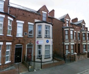 Herzog's birthplace at 185 Clitronpark Avenue in north Belfast