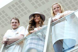 Conor Mullan, Rachel O'Connor and Rachel McFarland